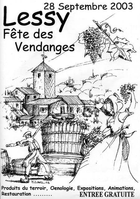 Lia_Fete_2003_vendanges_450